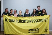 Wir vom Flucht und Asyl Arbeitskreis_Bild: Alisa Sterkel