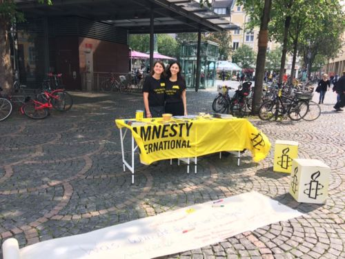 Aktion Europawahl 2019 Innenstadt Bonn