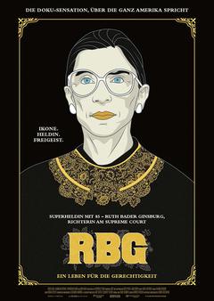 RBG - Ein Leben für die Gerechtigkeit_Plakat