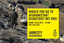 Would you go to Afghanistan?